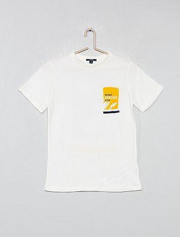 de2692d5e Niño 10-18 años - Camiseta con estampado trasero - Kiabi