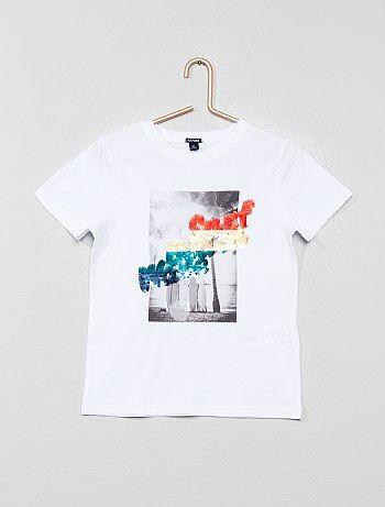 63af7f7fe Camiseta lentejuelas reversibles | Kiabi | La moda a pequeños precios