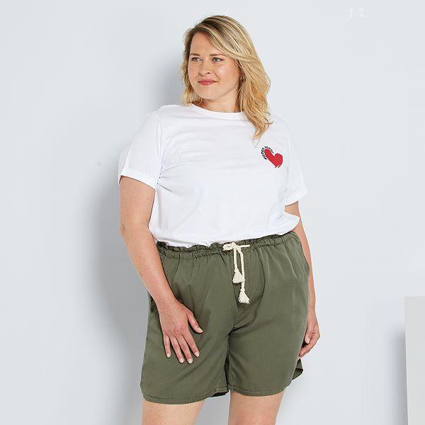 Kiabi Camisetas Mujer Tallas Grandes Baratas Online