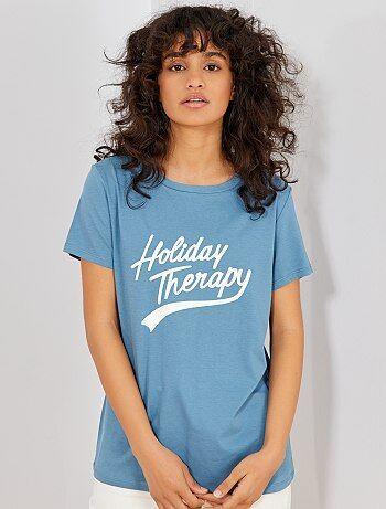 2d84ea3e3 Camiseta estampadas Mujer talla 34 a 48