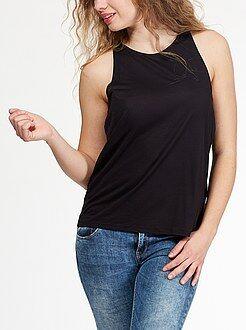 Mujer Camiseta con sisas americanas