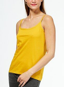Mujer Camiseta con tirantes finos