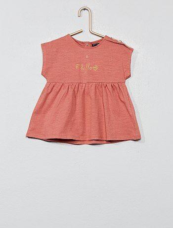 ac80155a Rebajas bebé niña camisetas manga corta y ropa bebé barata - moda ...