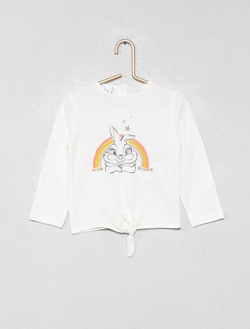 Camiseta 'Conejita'                             BLANCO Bebé niña