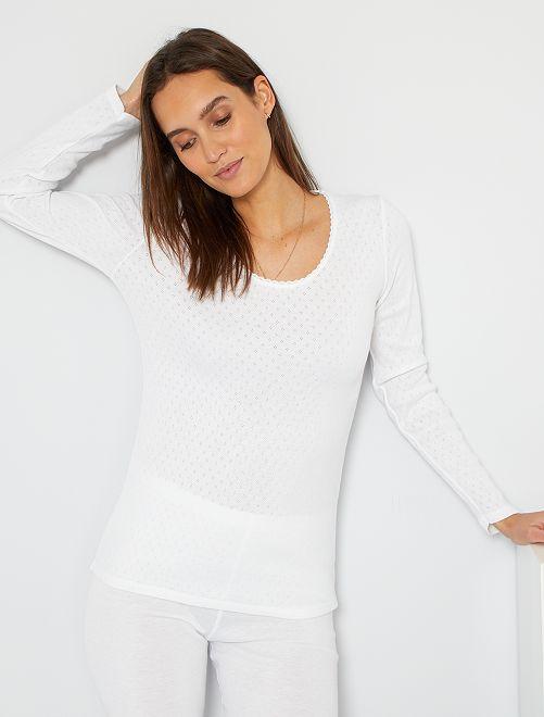 Camiseta 'Damart'                                                     blanco