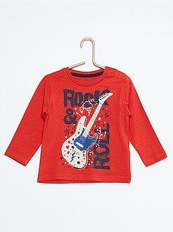 Niño 1-5 años Camiseta de algodón estampada