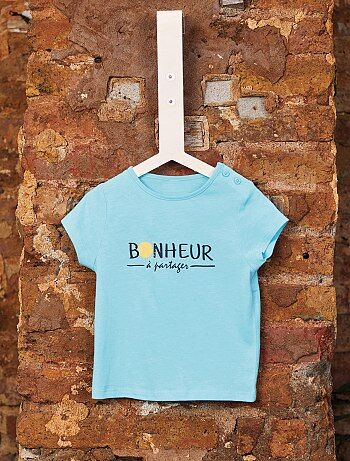 92207c7afb0 Niño 0-36 meses - Camiseta de algodón orgánico - Kiabi