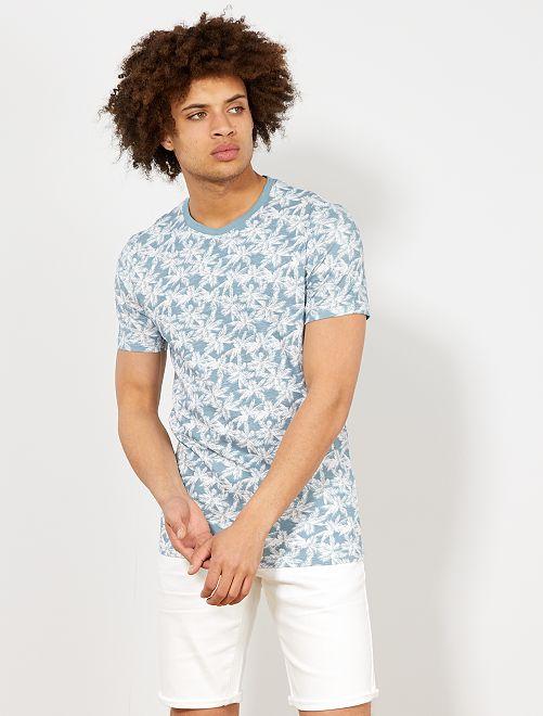 Camiseta de algodón orgánico ecodiseño                                                                                                                                                     BLANCO Hombre
