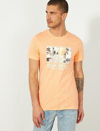 272181740 Camiseta de algodón orgánico ecodiseño - Kiabi