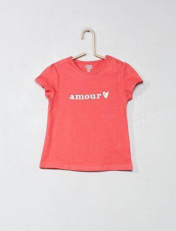 f1d4d6ac7ebef Camiseta de algodón orgánico - Kiabi Encontrar en tienda