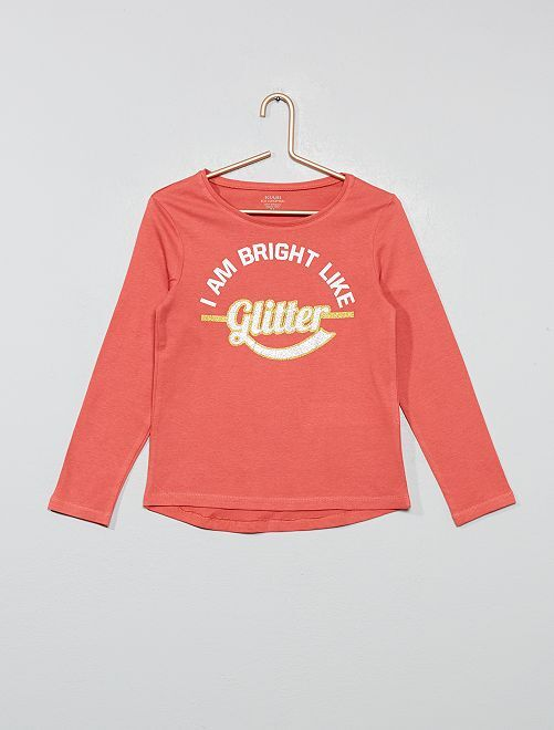 Camiseta de algodón orgánico                                                                             ROSA