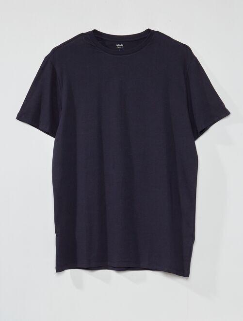 Camiseta de algodón puro +1,90 m                                                                                                     AZUL