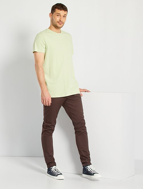 Camiseta de algodón puro +1,90 m                                                                                                     VERDE