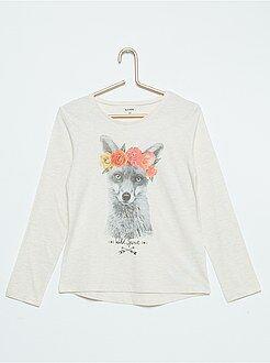 Camiseta de algodón puro