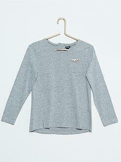 Niña 4-12 años Camiseta de algodón puro