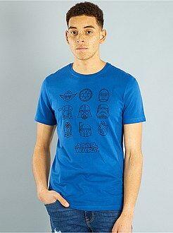 Camiseta de algodón puro 'Star Wars'