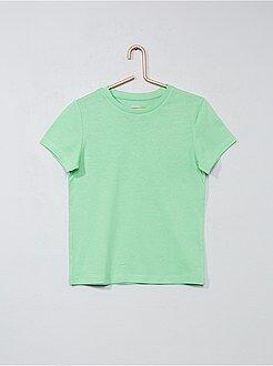 Camisetas manga corta - Camiseta de algodón puro - Kiabi