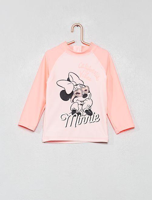 Camiseta de baño anti-UV 'Minnie'                                         ROSA Bebé niña