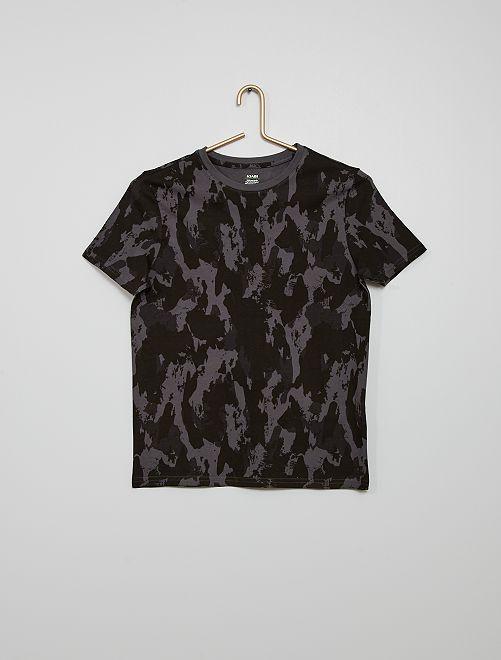 Camiseta de camuflaje                                                                             GRIS