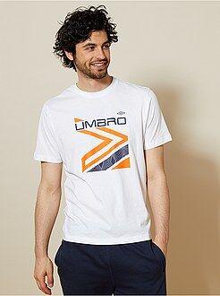 Camiseta - Camiseta de deporte de algodón 'Umbro' - Kiabi