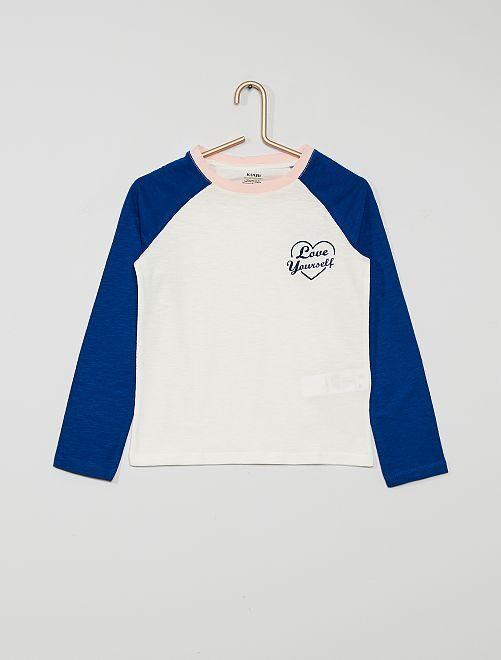 Camiseta de deporte eco-concepción                                         BLANCO
