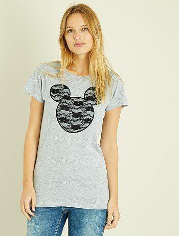 Camiseta de encaje de 'Mickey' - Kiabi