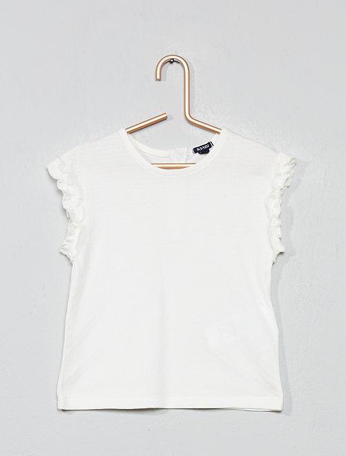 Camiseta de fantasía                                                     blanco nieve Bebé niña