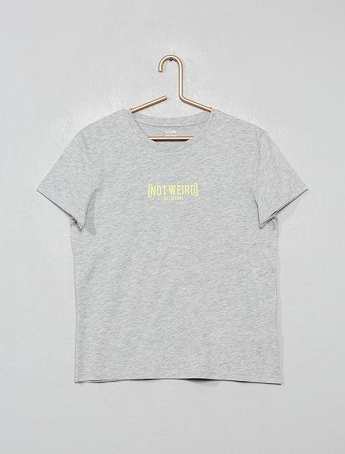 Camiseta de fantasía                                                                                                                             GRIS