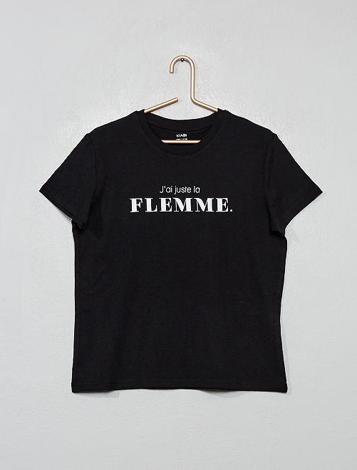 Camiseta de fantasía                                                                                                                             NEGRO