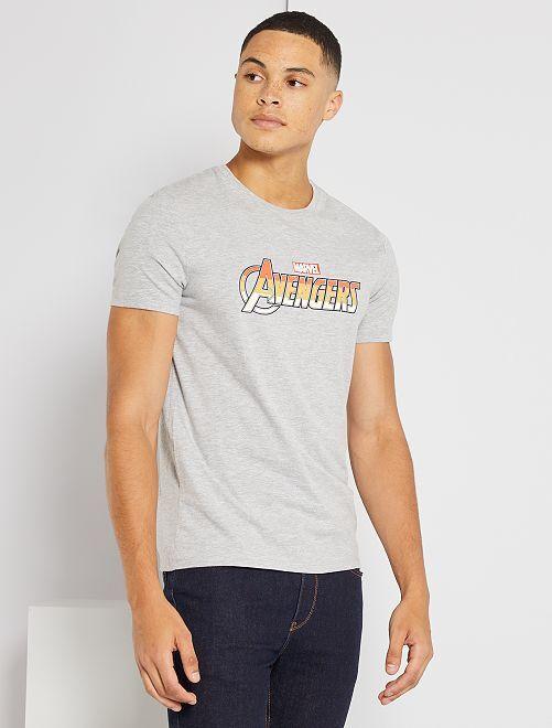 Camiseta de 'Los Vengadores' de 'Marvel'                             GRIS