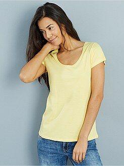 Mujer Camiseta de manga corta
