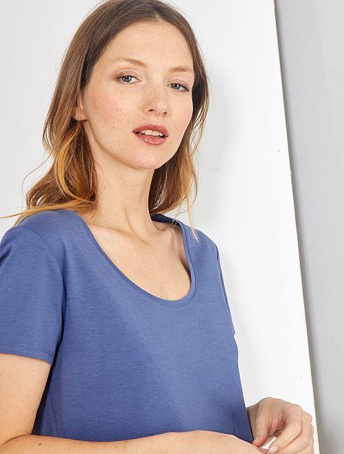 Camiseta de manga corta                                                                                                                             azul índigo
