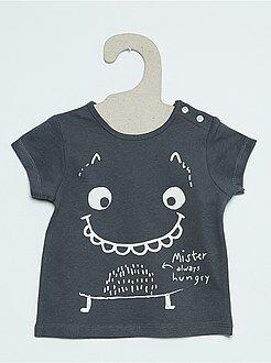 Niño 0-36 meses Camiseta de manga corta con estampado fantasía