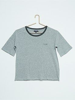 Niña 10-18 años Camiseta de manga corta