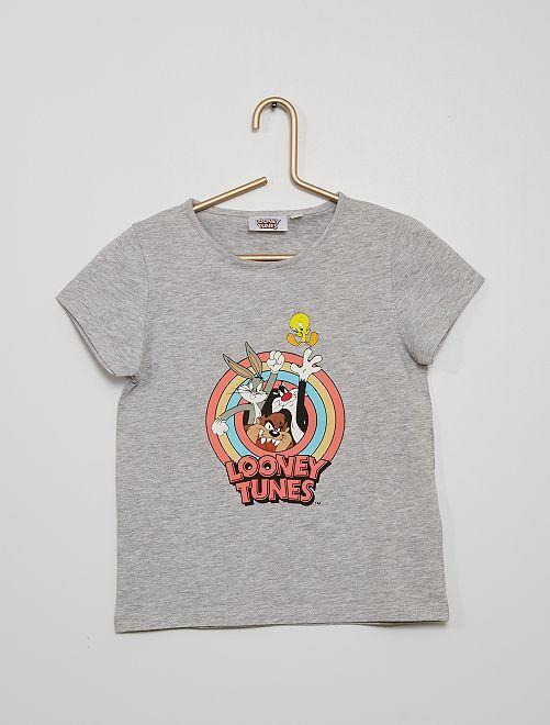 Camiseta de manga corta 'Looney Tunes'                             GRIS