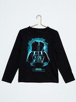 Niño 4-12 años Camiseta de manga larga 'Darth Vader'