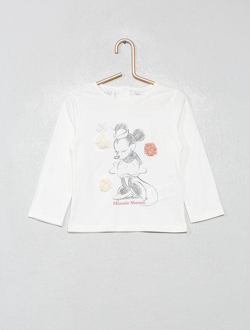 Camiseta de manga larga 'Disney'                                         BLANCO