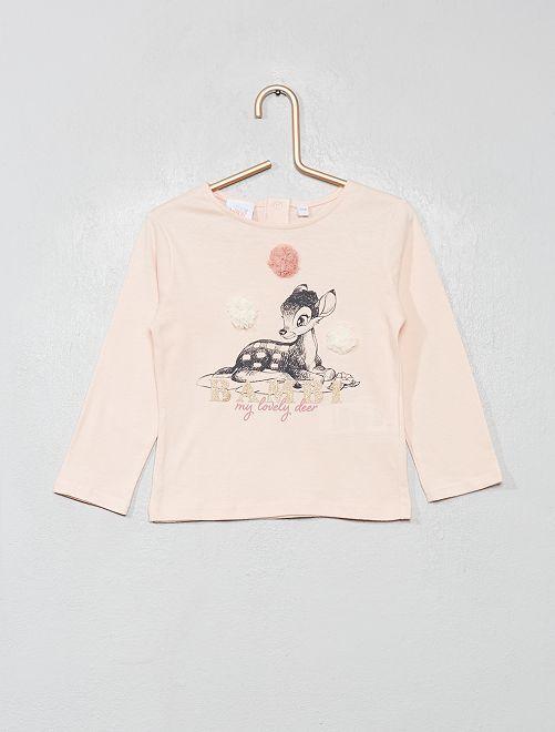 Camiseta de manga larga 'Disney'                                         ROSA