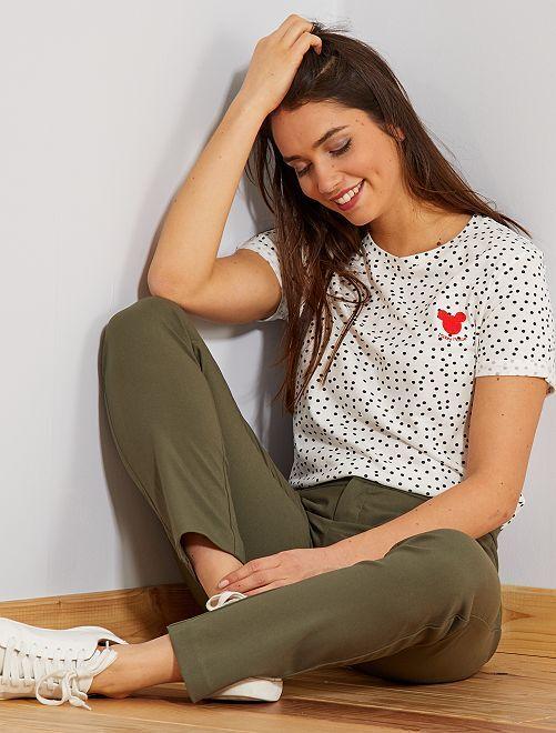 Camiseta de Mickey de 'Disney'                                                                                 BLANCO Mujer talla 34 a 48