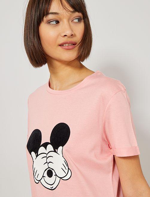 Camiseta de Mickey de 'Disney'                                                                 ROSA Mujer talla 34 a 48