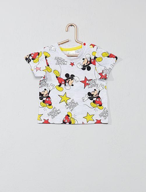 Camiseta de 'Mickey'                                                     gris Bebé niño