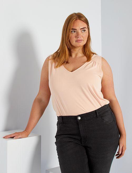 Camiseta de modal                                                                                                                                                     ROSA