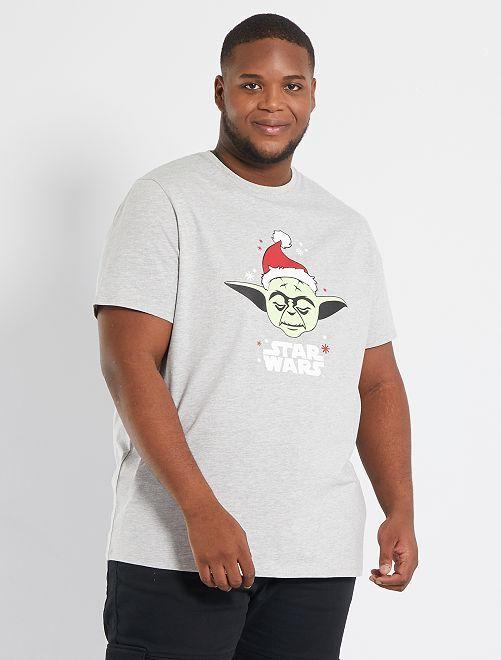 Camiseta de Navidad 'Star Wars'                                         GRIS