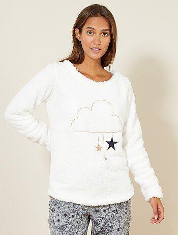 Camiseta de pijama de borreguito - Kiabi