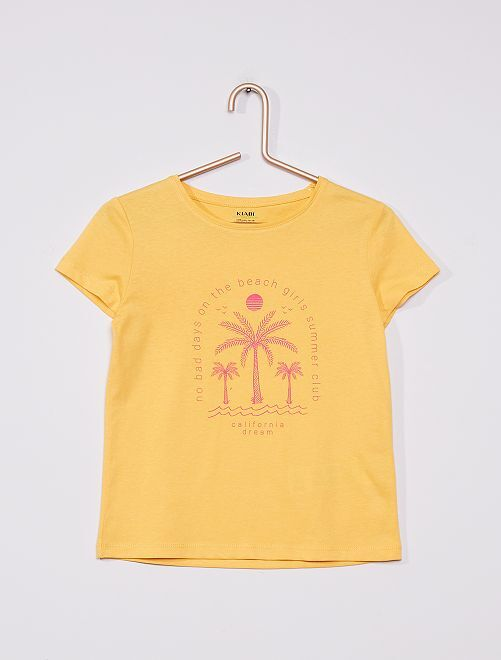 Camiseta de punto                                                                 AMARILLO