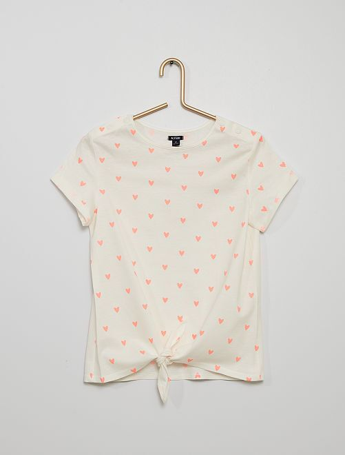 Camiseta de punto                                         BEIGE