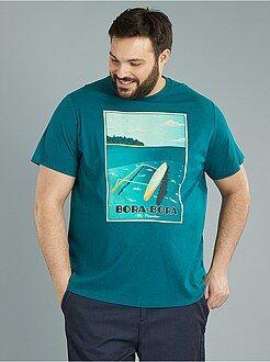 Camiseta de punto 'Bora Bora' - Kiabi