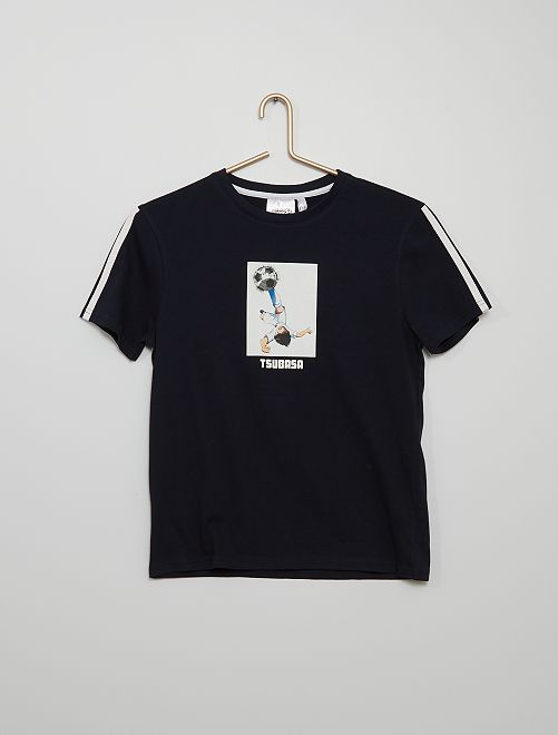 Camiseta de punto 'Captain Tsubasa'                                         azul