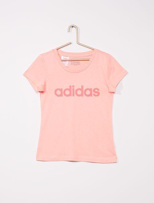 Camiseta de punto de algodón puro 'Adidas'                             ROSA