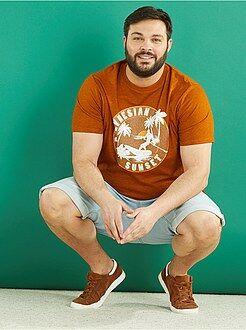 Camiseta de punto estampada - Kiabi